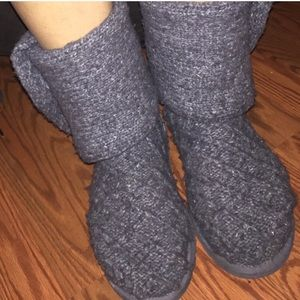 USED Sweater Uggs Dark Grey Size 10